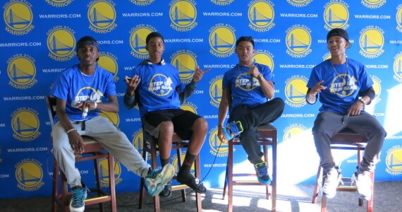 Student Perspective-3 students share their experience from the Golden State Warriors Kick Off Event